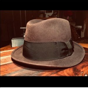 Royal Stetson Brown Wool Fedora